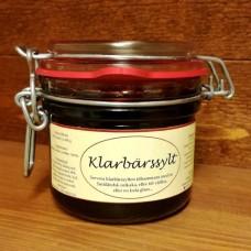 Klarbärssylt, 250 ml.