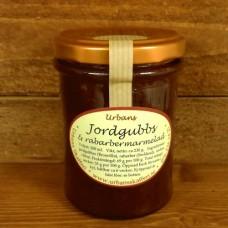 Jordgubbs- & rabarbermarmelad, 200 ml.